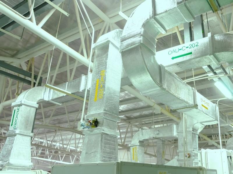 Filtration air utilités